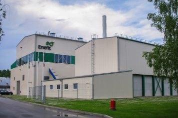 Enefit biomasas koģenerācijas stacija Valkā