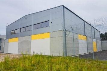 Sporta zāle Olaines cietuma jaunajā korpusā