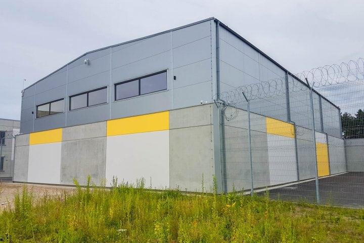 Olaines cietuma jauna korpusa būvniecība