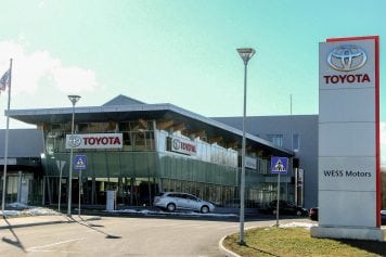 Toyota Autocentrs WESS Motors Berģos