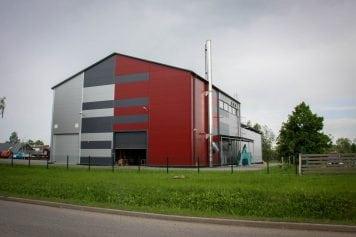 Biomasas koģenerācijas elektrostacija Kuldīgā