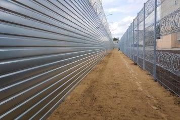Nožogojuma izbūve Olaines cietumā
