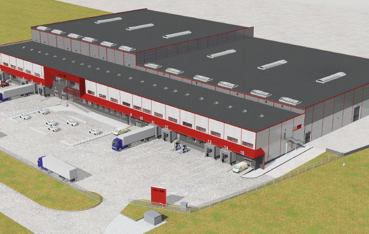 """Uzsākam darbus objektā """"Gatavās produkcijas komplektēšanas centra jaunbūve"""" Rumbulā"""