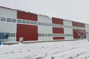 Ražošanas ēkas būvniecība