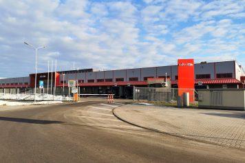 MikroTik gatavās produkcijas komplektēšanas centra jaunbūve