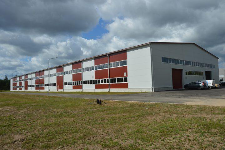 Limbažos, Meliorācijas ielā 14 atklāta jaunā ražošanas ēka